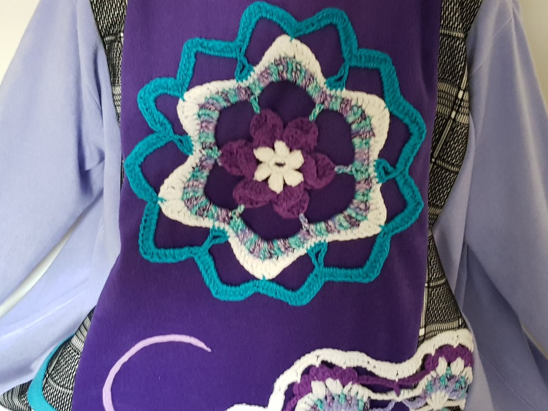 Plus size upcycled clothing Plus size bohemian clothes Plus size womens clothing Upcycle dresses Boho womens clothes Lagenlook Sweater dress