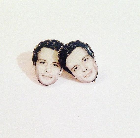 Matthew Gray Gubler Stud Earrings Etsy