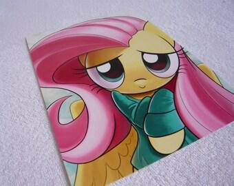 Small MLP Print - Fluttershy