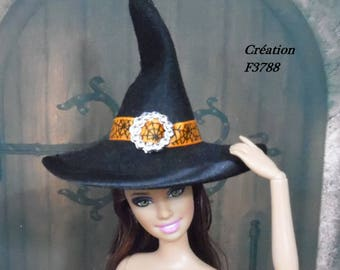 Barbie Hat halloween witch for Barbie doll Fashion Royalty Silkstone Poppy Parker