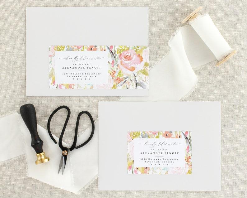 Wedding Invitation Address Labels Address Labels For Wedding Etsy