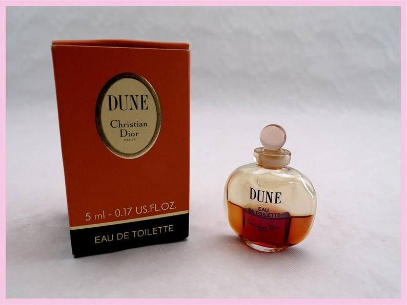Miniature De Parfum Dune De Dior Paris Boite Dorigine Etsy