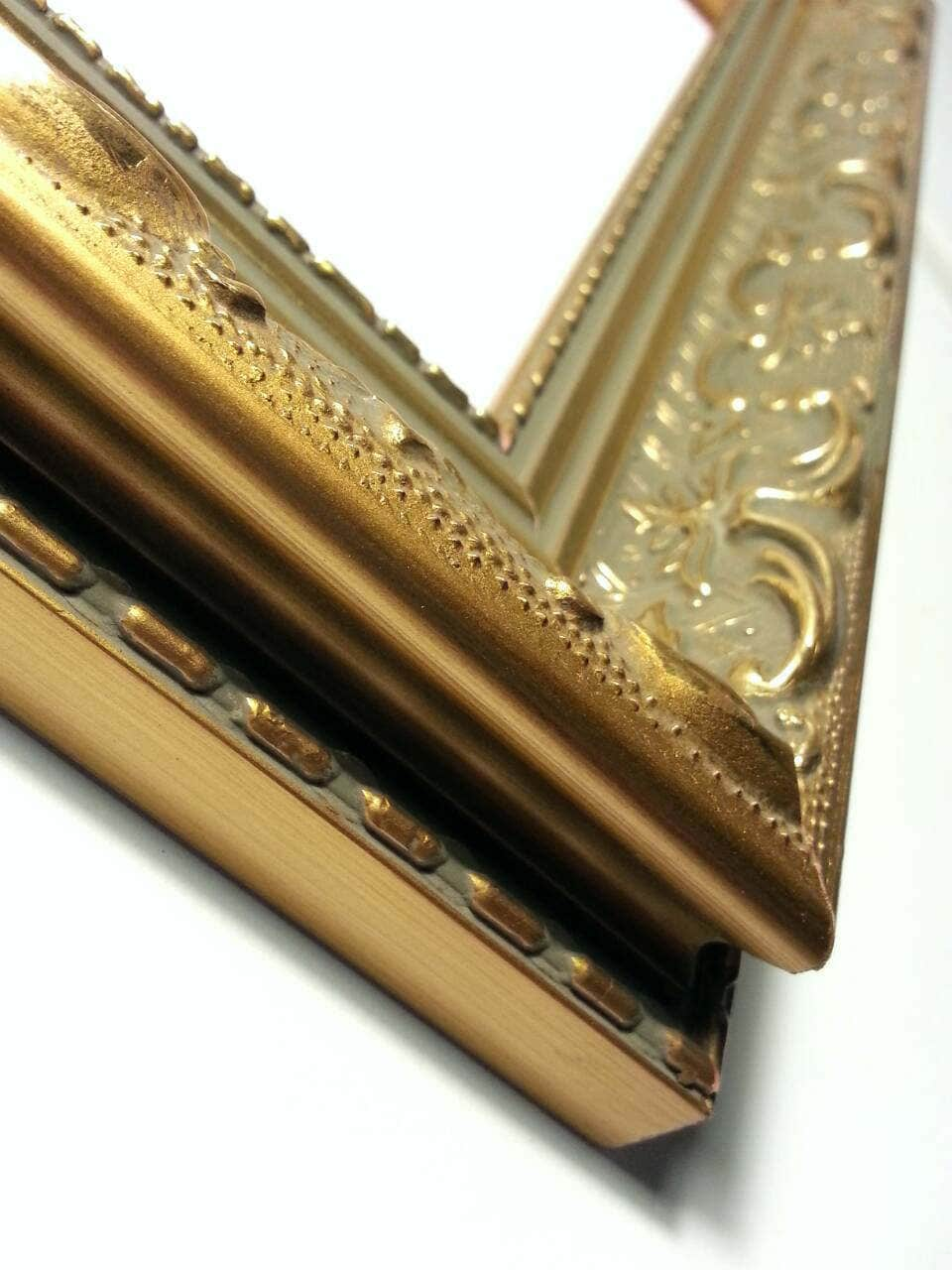 Louis XV Ornate Gold Picture Frame, Gold Ornate Photo Frame, Wood ...