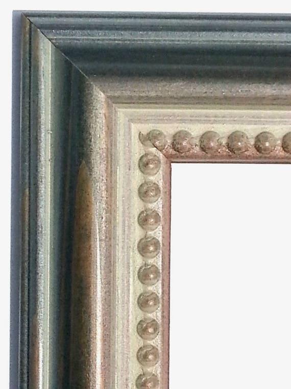 Sarcelle d\'hiver Photo Frame, cadre photo vert patiné, lèvre ...