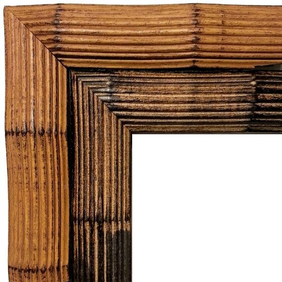 Bamboo Picture Frame Photo Frame Bamboo Realistic Wood Etsy
