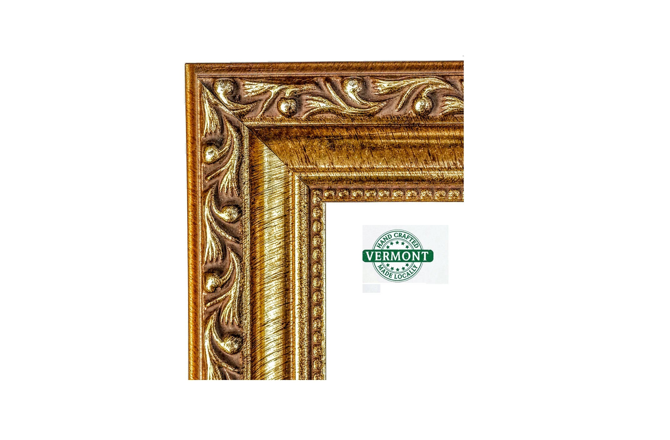 ORNATE Gold Picture Frame, Antique Gold Photo Frame. Gold Ornate 4x6 ...