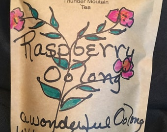 Raspberry Oolong - Excellent both Hot or Cold