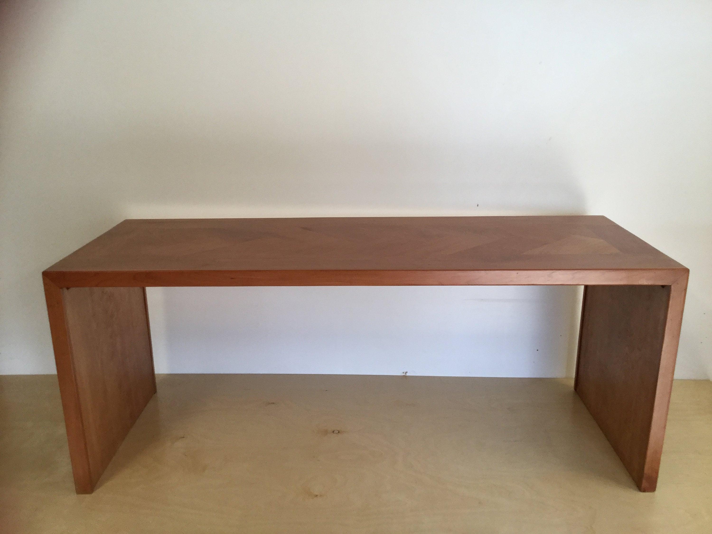 Cherry Coffee Table.Solid Cherry Coffee Table W Herringbone Pattern
