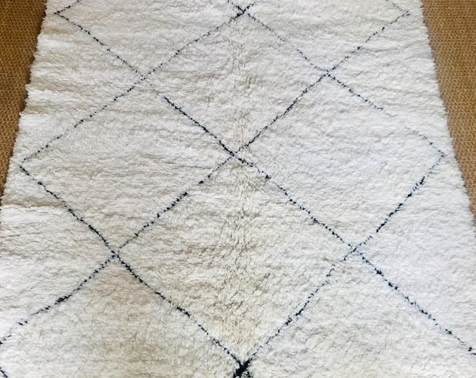 Berber rug Beni Ouarain (Béni Ourain) ref: 24/12-9