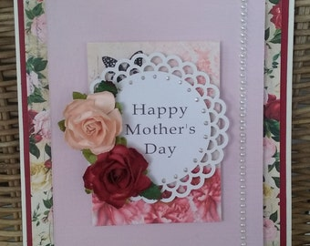 Happy Mother's Day - handmade card