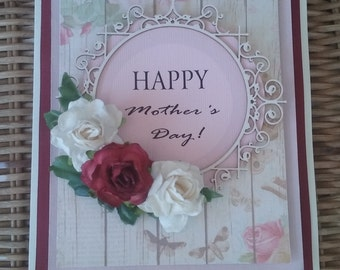 Happy Mothers Day - handmade card