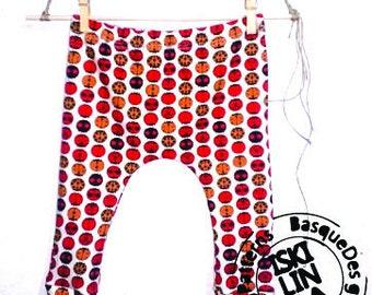 Pantalón bebé de algodón orgánico hecho a mano. talla 0-3 meses c3b42e6d1da2