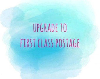 Up grade to first class recorded post. UK only!