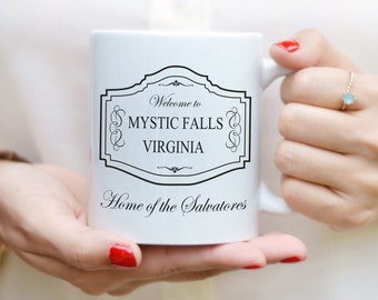 The Vampire Diaries coffee mug with print