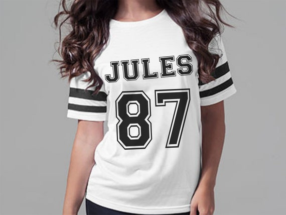 women's personalized football jerseys