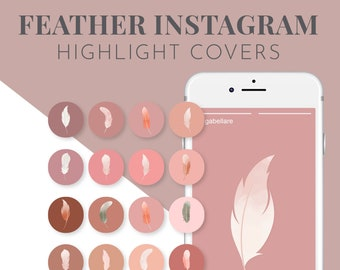 Watercolour Icons for Instagram Highlight Cover
