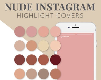 Neutral Instagram Highlight Covers for Influencers