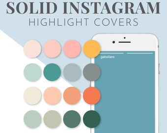 Colorful Instagram Highlights Covers