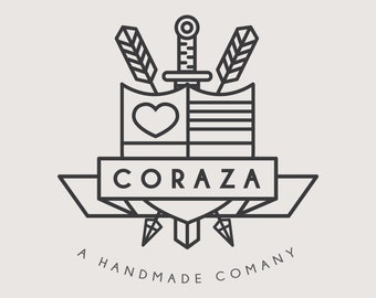 Minimal Stamp Logo for Small Company