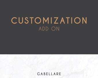 Add On   Customization