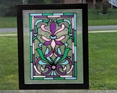 Classic Stained Glass Des...