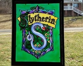 SLYTHERIN STAINED GLASS P...