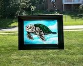 Sea Turtle~suncatcher, st...