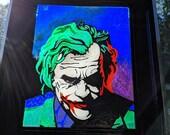 The Joker~suncatcher, sta...