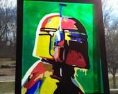 Abstract Mandalorian Sold...