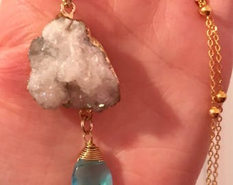 Bright Cloudy Day Necklace