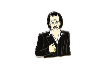 Nick Cave & the Bad Seed - Soft Enamel Pin