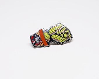Cactus Fist - Hard Enamel Pin