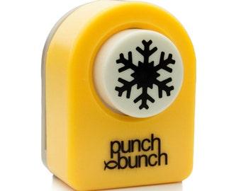 Aspen Snowflake Punch - Small