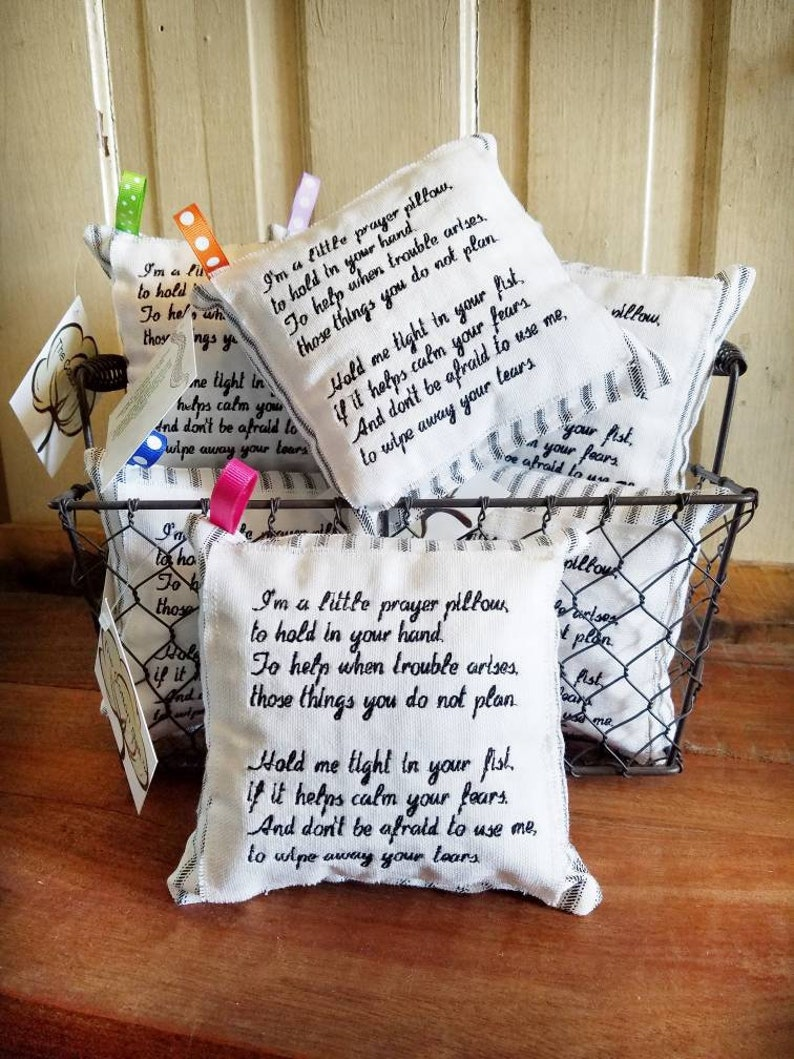 Inspirational Pillow, Inspirational Gifts for Friend, Inspirational Gifts  for Women, Sympathy Pillow, Bereavement Pillow, Prayer Pillow