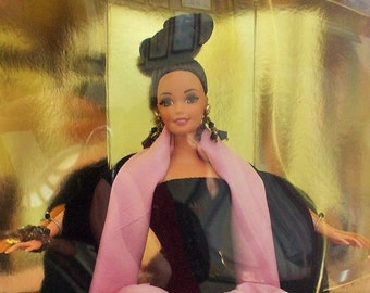 Collector Barbie in Box, Escada European Haute Couture, Limited Edition 1996, Mattel