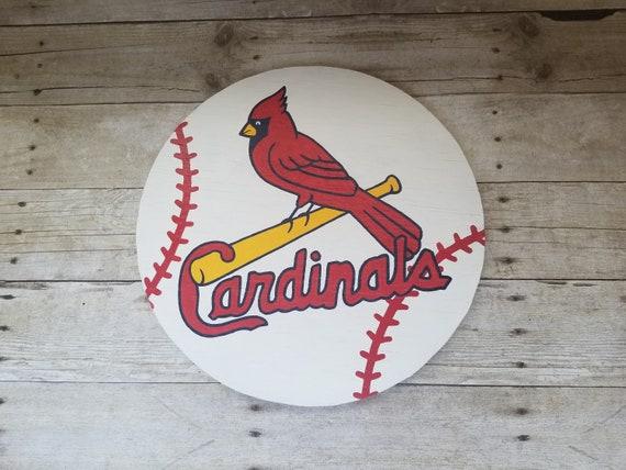 Louis Cardinals Sign Cardinals Laser Engraved Rustic Sign St