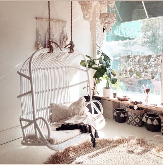 Pleasing Paradise Love Seat Double Rattan Hanging Chair White Machost Co Dining Chair Design Ideas Machostcouk
