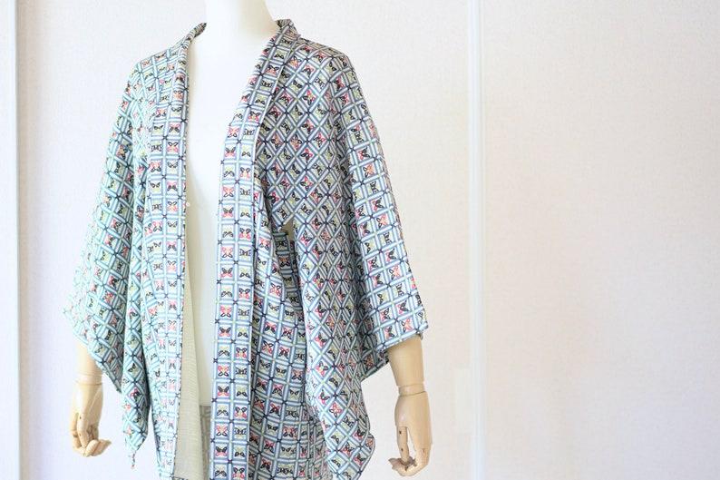 Vintage kimono jacket Japanese Kimono 4485 Haori