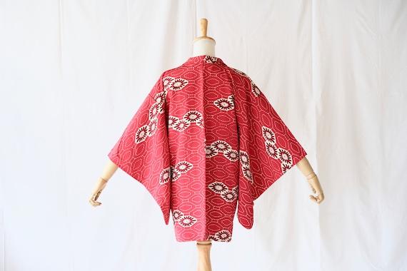Vintage kimono jacket, Haori, Japanese Kimono /431
