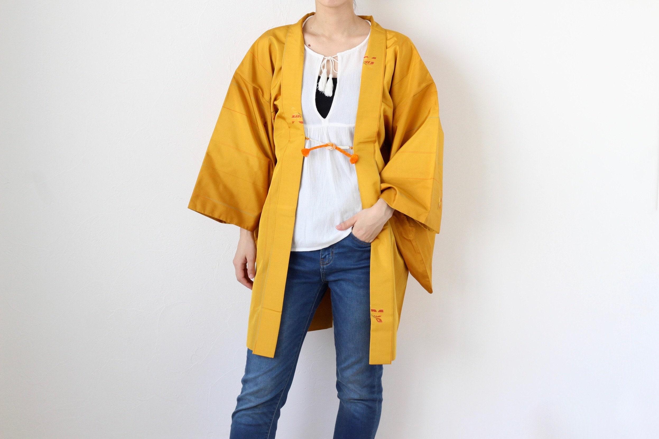b75b3633d12 butterfly kimono EXCELLENT VINTAGE kimono jacket Japanese