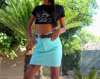 Mini skirt//Best Company vintage skirt//
