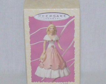 Hallmark Keepsake Ornament Springtime Barbie Collector Series 1997