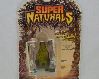 Super Naturals Ghostling Hooter Carded Action Figure - 100% Complete - Vintage 1987 Tonka