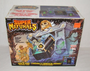 Super Naturals Tomb Of Doom Ghostworld Playset - 100% Complete - Vintage 1987 Tonka - Lot #4