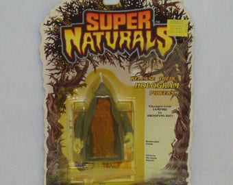 Super Naturals Ghostling Vamp-Pa Carded Action Figure - 100% Complete - Vintage 1987 Tonka