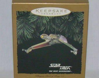 Hallmark Keepsake Ornament Star Trek Klingon Bird of Prey 1994