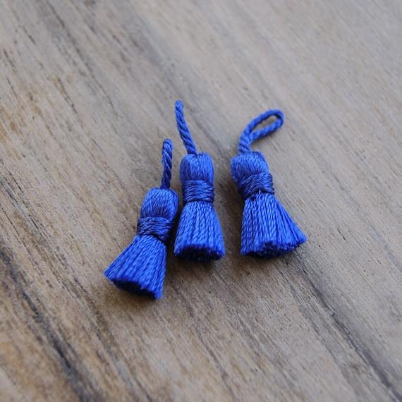 Pompom azul borla para bisuter a fleco proveedor abalorios for Proveedores de material para bisuteria