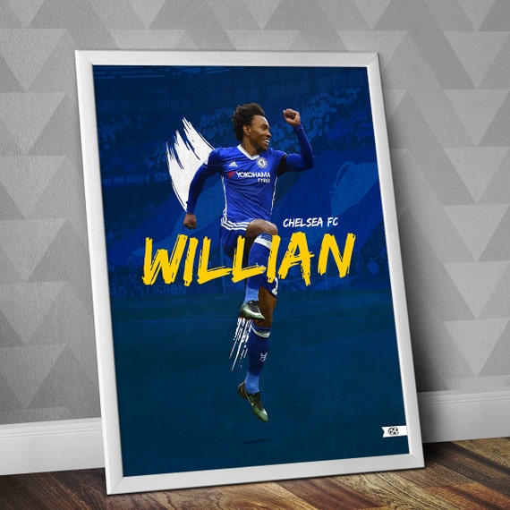 Diago Costa 2 Professional Footballer Chelsea Atlético Club Poster Photo Print