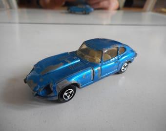 Majorette Jaguar E type V12 in Blue