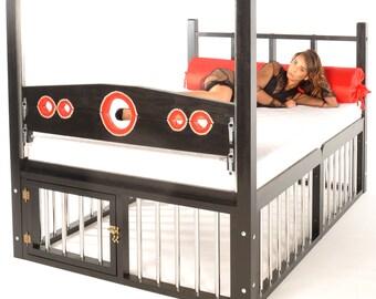 Bondage Bed Etsy